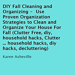 DIY Fall Cleaning and Organizing Audiobook