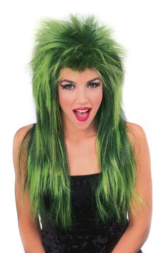 [Rubie's Costume Neon Shag Wig, Green, One Size] (Neon Green Wigs)