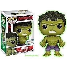 Funko Pop! Marvel: Avengers 2 - Gamma Glow Hulk Exclusive Figure