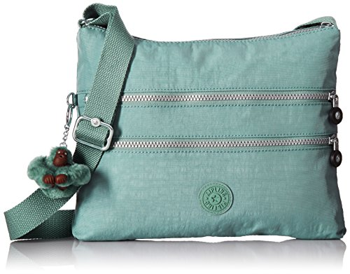 Kipling Alvar Solid Crossbody Bag, Sea Green