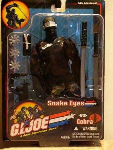 G.I.JOE A REAL AMERICAN HERO VS COBRA SNAKE EYES 12 INCH ACTION FIGURE by G. I. Joe