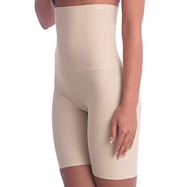 f6c594e373f Image Unavailable. Image not available for. Color  Cover Girl Shapewear  Extra-Firm Tummy Control Thigh Shaper for Women High Waist Thigh Slimmer