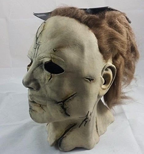 TYLER MANE SIGNED MICHAEL MYERS HALLOWEEN PROP MASK JSA PROOF J179 (Halloween Movie Props)