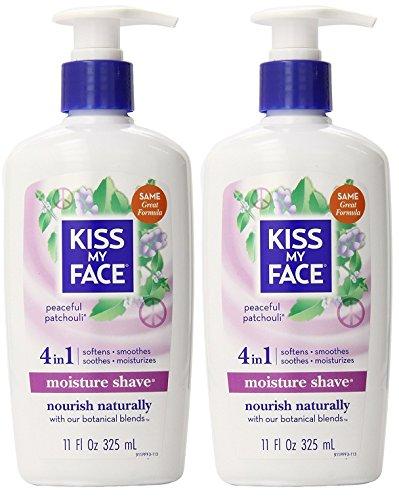 Kiss My Face Patchouli Shaving Cream  With Vitamin E, Aloe V