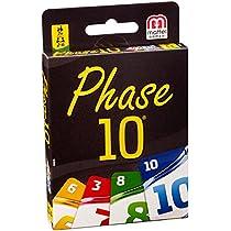 Mattel Games Phase 10 Basis - Juego de Tablero (Niño/Niña)