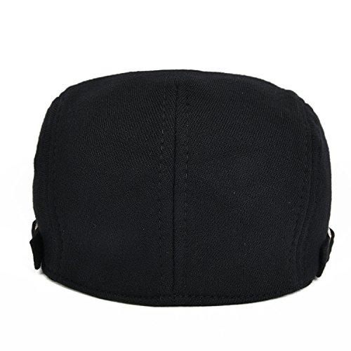 VOBOOM Men Newsboy Cap Cotton Flat Ivy Gatsby Driving Hat
