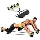 Home Cube Foldable Revoflex Xtreme Rally Multifunction Pull Rope Wheeled Health Abdominal Muscle Training Home Fitness Equipment