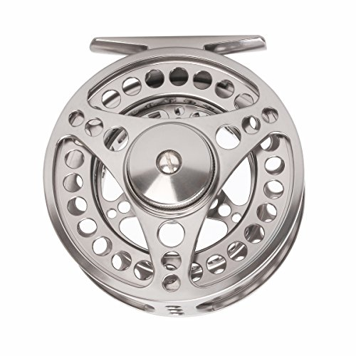 Large Arbor Disc Drag - CNC Machined Aluminum Fly Fishing Reel 3/4 5/6 7/8 9/10 Large Arbor Disc Drag Left Right Handed (5/6(85mm diameter))