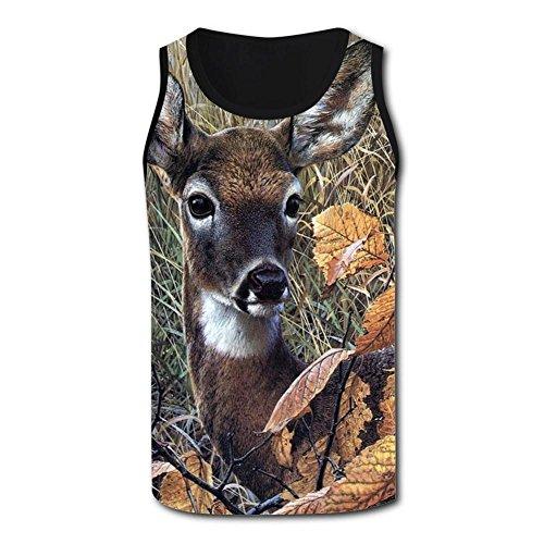 Gjghsj2 Cut Deer Tank Top Vest Shirts Singlet