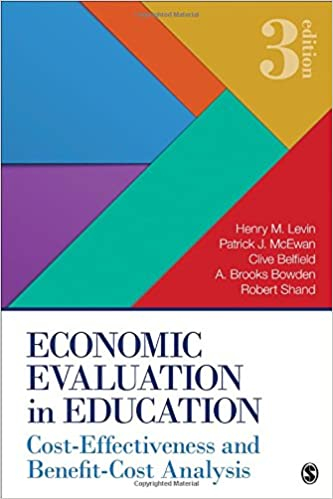Economic evaluation in education cost effectiveness and benefit economic evaluation in education cost effectiveness and benefit cost analysis 3rd edition fandeluxe Gallery