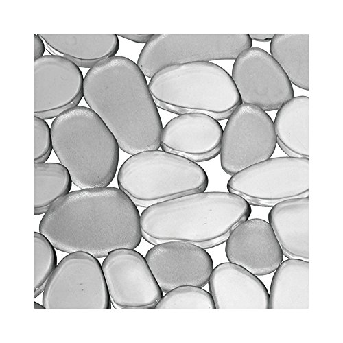 InterDesign Pebblz  Kitchen Sink Protector Mat, Graphite
