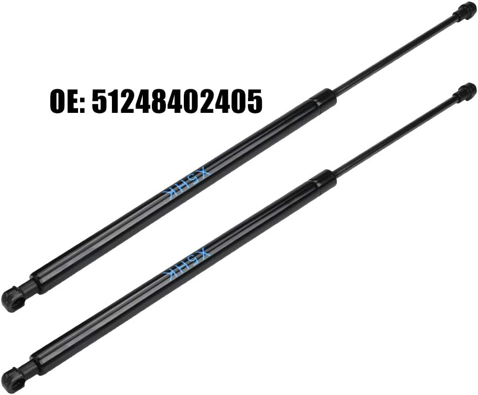 2000 2001 2002 2003 2004 2005 2006 Hlyjoon Car Tailgate Lift Supports 2Pcs 528-532mm Tail Gate Lid Support Shock Strut Gas Springs 51248402405 Fit for X5 E53