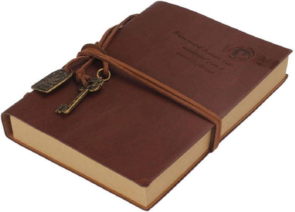 WINOMO Vintage in stile classico retr/ò vuoto taccuino blocco note Travel Journal diario Quaderno per schizzi Sketchbook/ /Quaderno per schizzi