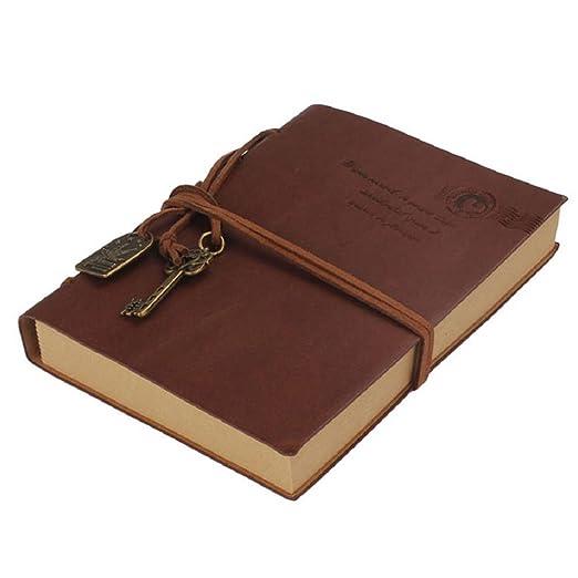 73 opinioni per Pixnor Gazzetta Diario String chiave retrò Vintage Classic Leather-taccuino