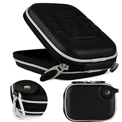 Slim Protective Eva Black Compact Carrying Case for Canon PowerShot Series Point and Shoot Cameras