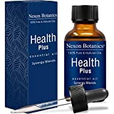 Health Plus Essential Oil Synergy Blend - 100% Pure and Natural Therapeutic Grade