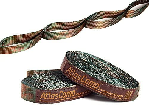 Outdoor Ultimate Durable Tree Hanging Strap Suspension System for ENO Hammock