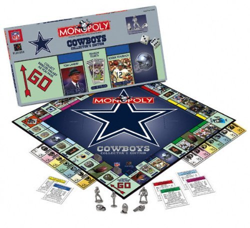 Usaopoly Dallas Cowboys Monopoly (Football Collectors Edition Monopoly)