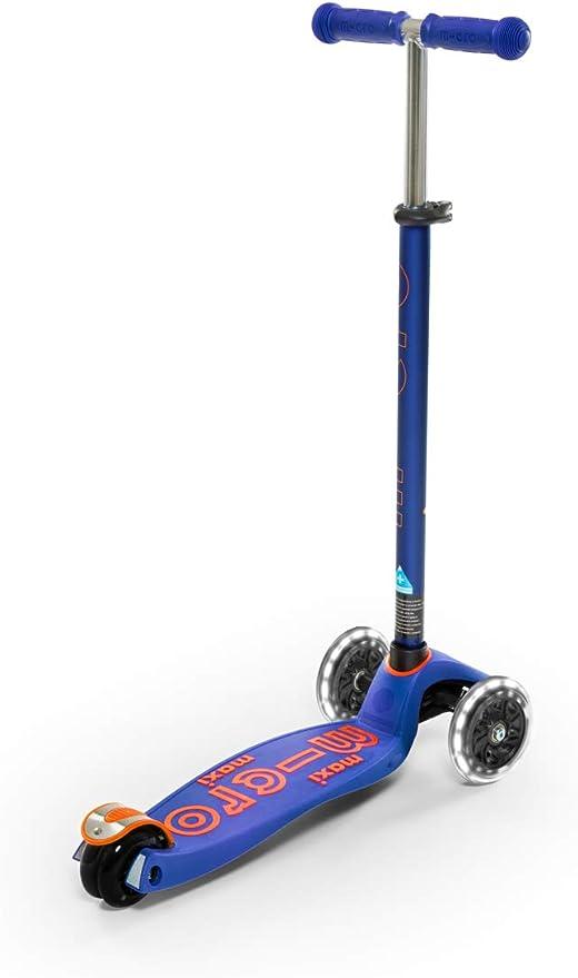 Amazon.com: Micro Kickboard - Maxi Deluxe LED 3 ruedas ...