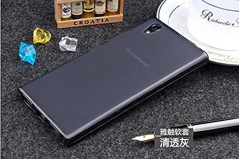 newest f05a4 b4229 Clorox S Desgin Soft Rubber Back Cover for Lenovo P70: Amazon.in ...