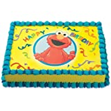 Elmo Edible Cake Images : Amazon.com: Sesame Street Elmo Edible Image Photo Cake ...