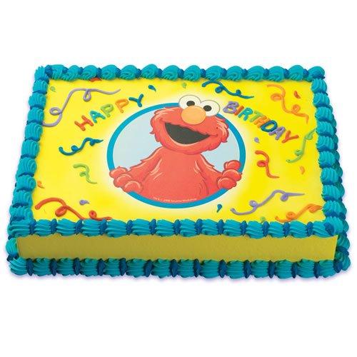 Elmo Cakes 45043 1 DoItYourself Edible Cake Art Amazoncom