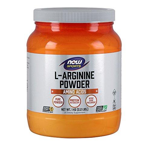 NOW L-Arginine Powder, 2.2-Pound by NOW Foods
