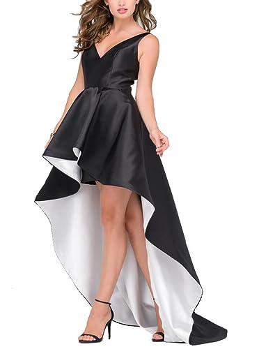 SIQINZHENG Hi-Lo Evening Dress...