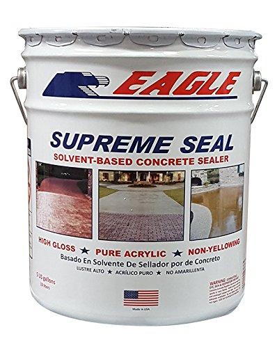 Eagle Sealer EU5 Clear Supreme Seal, 5 gal Pail