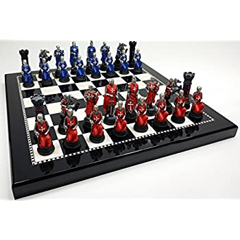 Trendy Medieval Chess Set Amazon. Home Improvement Neighbor Wilson This  Item Medieval Times Crusades Red Blue Chess Set Hand Painted Black
