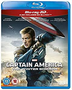 Captain America: The Winter Soldier [Blu-ray 3D + Blu-ray]