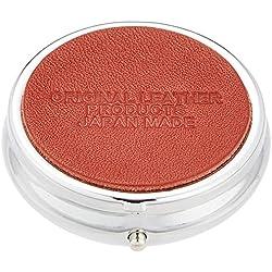Sam Kikaku Jewelry Box Round red, Clear