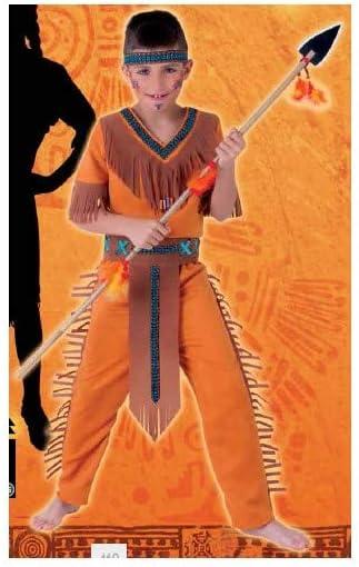 Rubies Indio Disfraz para niños, M (5-7 años) (Rubie's Spain S8424-M)