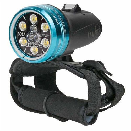 Light & Motion SOLA Dive 2000 S/F Light, Black by Light and Motion