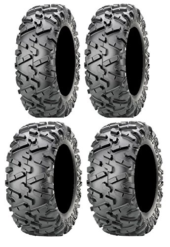 Full set of Maxxis BigHorn 2.0 Radial 26x9-12 and 26x11-12 ATV Tires (4)