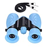 Kids Binoculars, Outdoor Binoculars for Kids, Folding Spotting Telescope For Bird Watching, Camping and Hunting, Best Gift Toys for Boys Girls (Blue)