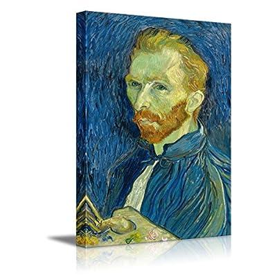 Self Portrait by Vincent Van Gogh Print Famous Painting Reproduction