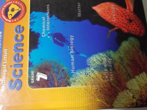 McDougal Littell Science South Carolina: Student's Edition Grade 7 Integrated Science 2007