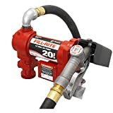 Fill-Rite FR4210G 12-Volt DC 20 GPM High Flow Pump with Hose and Manual Nozzle