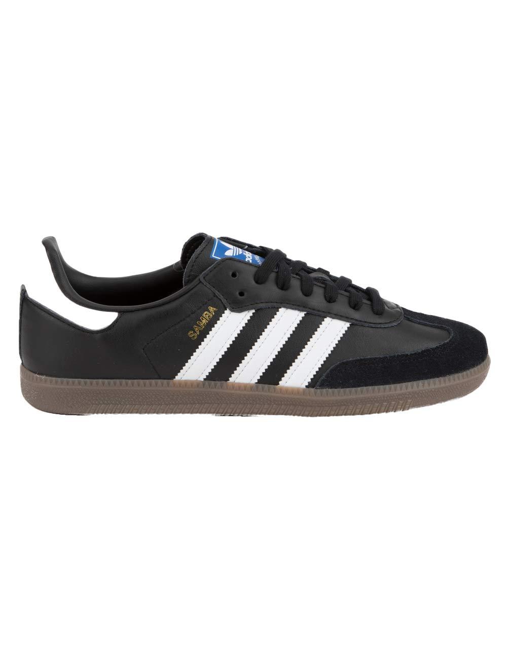 adidas Mens Samba OG Black White Gum Size 11