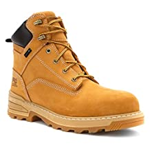 Timberland PRO 91659 Men's Resistor 6-in WP INS CT Wheat Tumbled Full-Grain Leather 7.5 W US