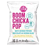 Angie's Boom Chicka Pop Popcorn White Cheddar, Ready-to-Eat Snack - 128g, 1 Count