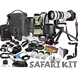 Canon EOS-1D X Mark II DSLR Camera Safari Bundle