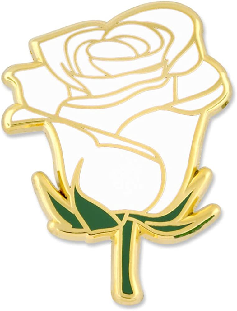 PinMart White Rose Flower...