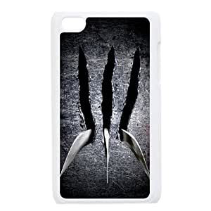 QSWHXN Phone Case Wolverine,Customized Case For Ipod Touch 4