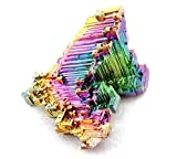 Bismuth Crystal Stone Large Specimen for Collecting,Wire Wrapping,Wicca and Reiki Crystal Healing