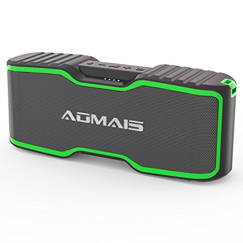 AOMAIS Sport II+ Bluetooth Speakers, Portable Wireless Speaker with Loud Sound, IPX7 Waterproof, 20 Hours Playtime, 99 ft Bluetooth Range & Built-in Mic, Perfect for Party, Beach,Shower (2018 Upgrade)