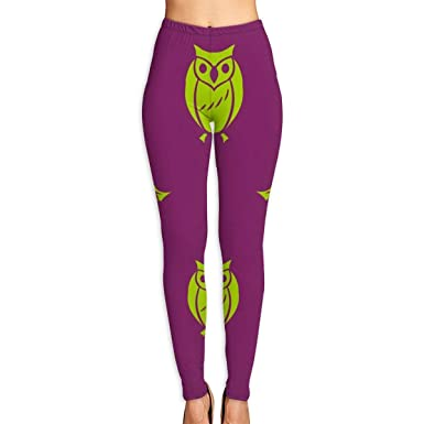 347fb3af3fc80 Amazon.com: Women's Halloween Owl Witch Skirt Activewear High-Waist ...