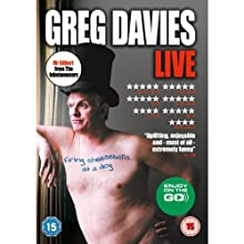 Firing Cheeseballs at a Dog Performance by Greg Davies Narrated by Greg Davies