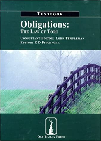 Download Obligations: Textbook: The Law of Tort PDF, azw (Kindle), ePub, doc, mobi